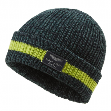Aston Martin Racing Adults Knitted Beanie